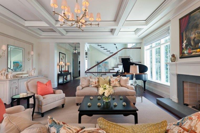 bonito diseño salon clasico