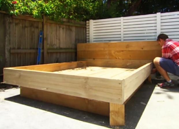 cama exterior maderas preparacion blanco