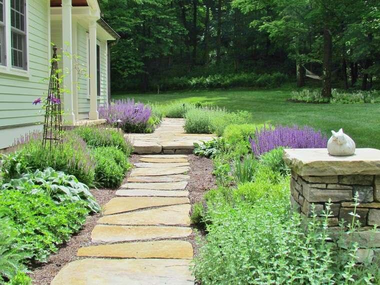 casa jard n y dise os inspiradores para el exterior On idea casa de entrada paisajismo