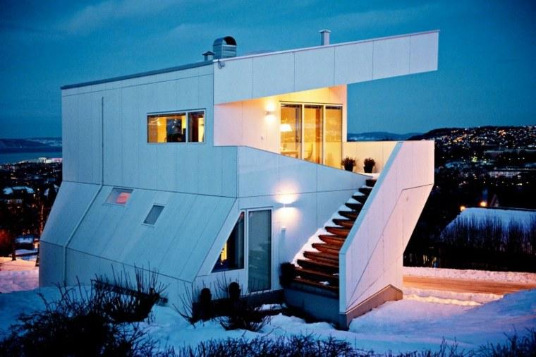 casa diseñada moderno JVA
