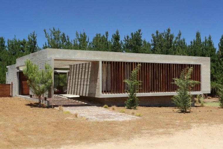 Casas lujosas residencia moderna en pinamar argentina for Casa moderna argentina