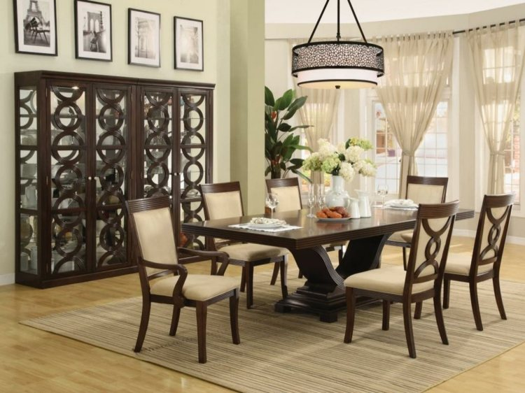 Centros de mesa decoracion elegante para comedores for Formal dining table decorating ideas