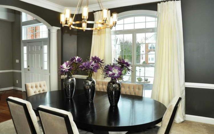 Centros de mesa decoracion elegante para comedores for Decoracion de jarrones