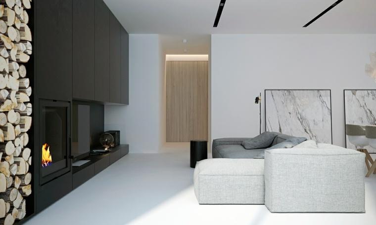 Color blanco dise o de ambientes minimalistas funcionales for Ambientes minimalistas interiores