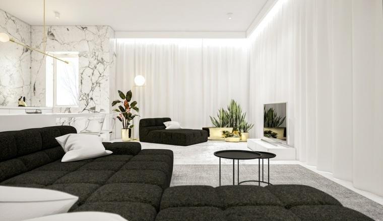 color blanco diseño sillas mesa centro muebles