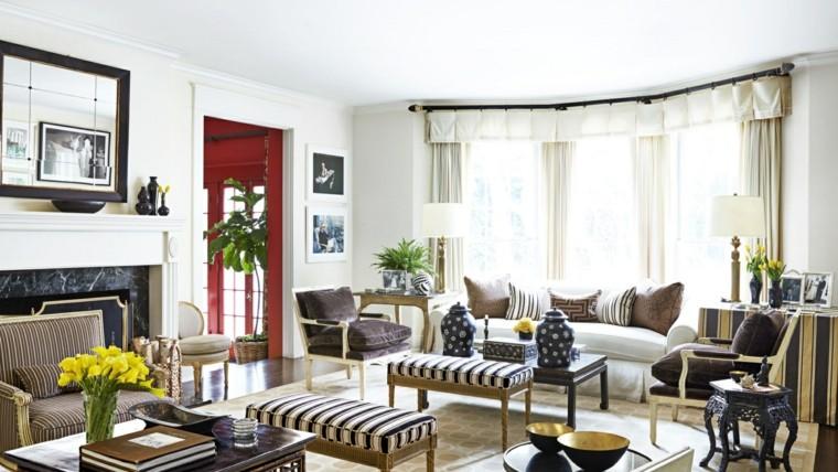 Colores para pintar un sal n en 18 dise os atractivos - Colores paredes salon ...