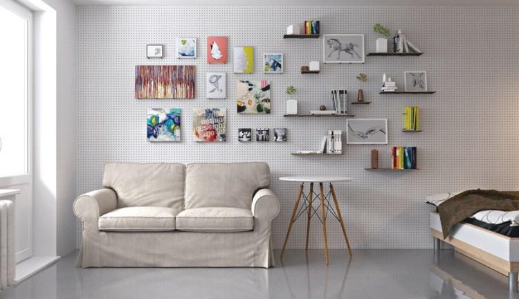 coloridos ambientes materiales salones sillas