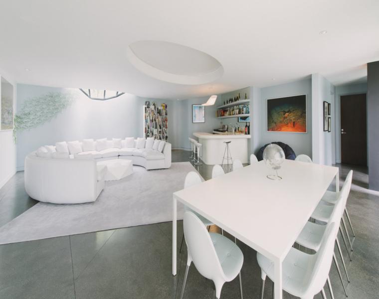 conjunto muebles diseño moderno