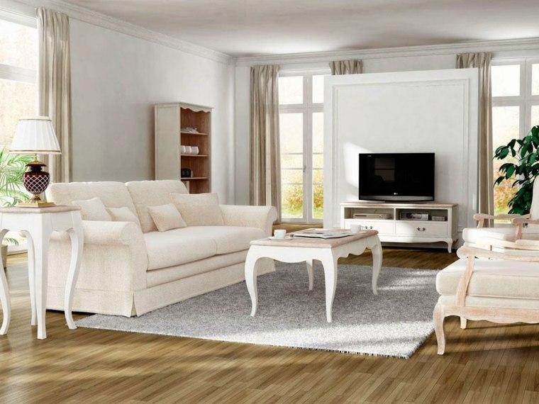 conjunto muebles diseno vintage beige