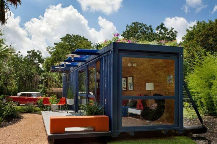 Contenedores maritimos para casas llenas de encanto for Contenedores para jardines verticales