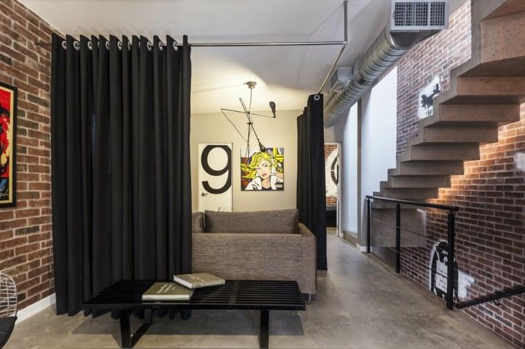Separador de ambientes ideas para interiores y exteriores - Cortinas para separar ambientes ...