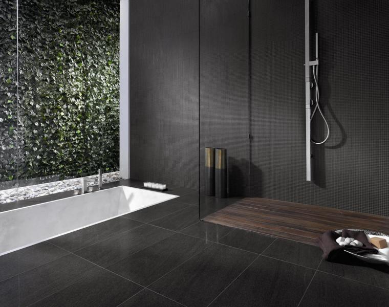 cuarto baño estilo minimalista moderno