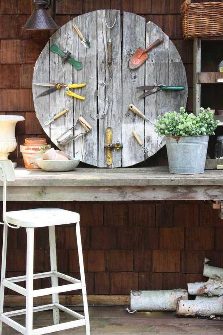 decoración utensilios jardineria