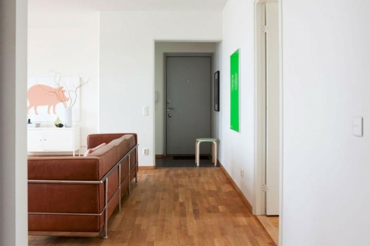 decorar interiores modernos blancos