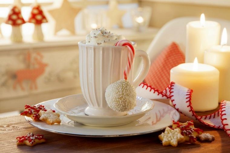 decorar mesa dulces velas