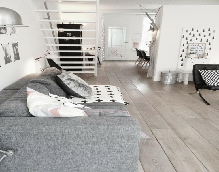 decoracion estilo escandinavo blanco