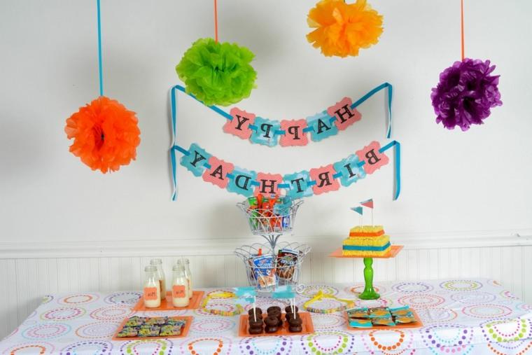 decoracin sencilla para fiesta de cumpleaos decoracin moderna fiesta cumple