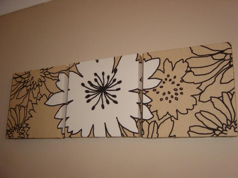 decoración pared telas originales