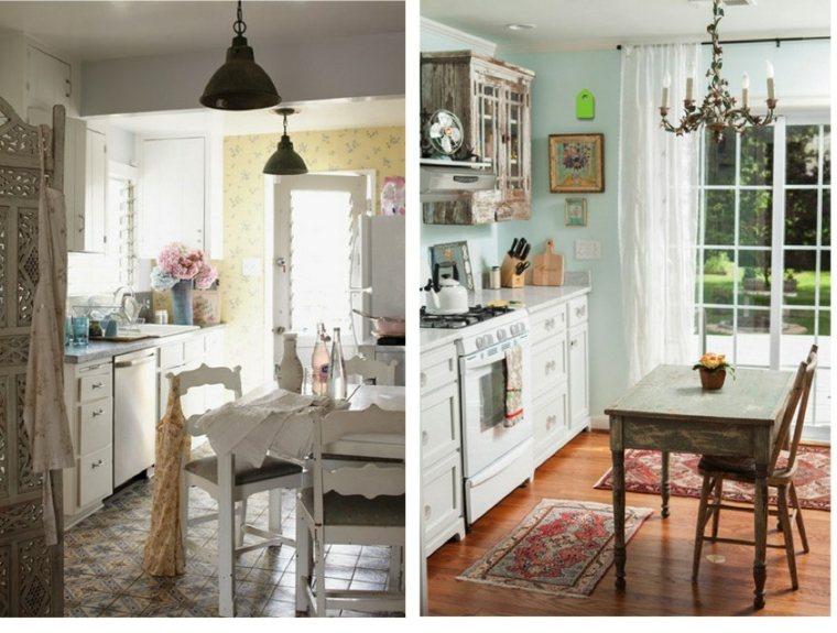 Cocinas estilo shabby chic simple cmo decorar una cocina con estilo shabby chic with cocinas - Cocinas estilo shabby chic ...