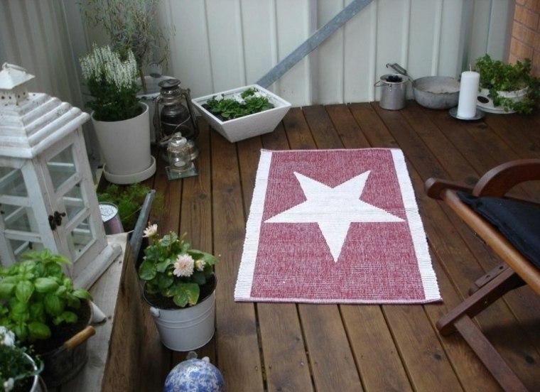 decorar terraza alfimbra estrella