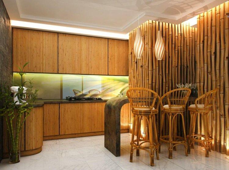 decoracion bambu cocinas muebles consejos