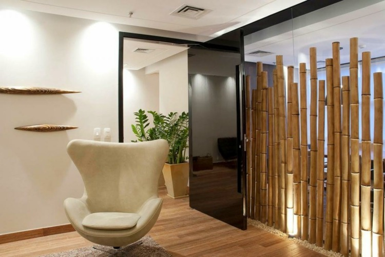 Bambu Decoracion Interior ~ decoracion bambu sillones rocas estilos colores