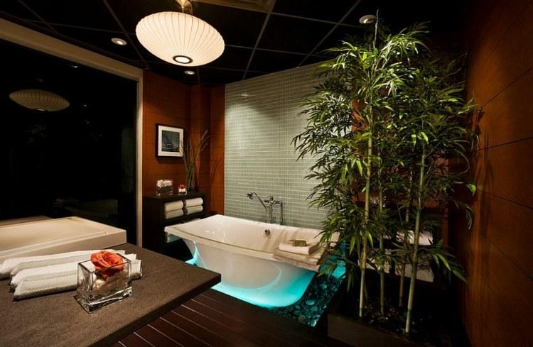 Decoracion bambu para interiores encantadores y relajantes - Decoracion zen salon ...