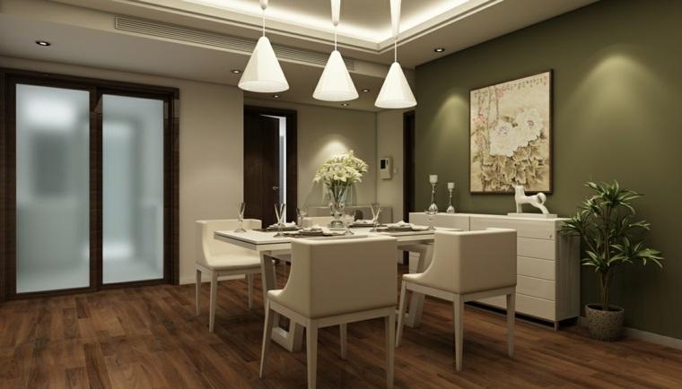 Decorar comedor peque o 55 ideas y consejos for Decoracion para muebles de comedor