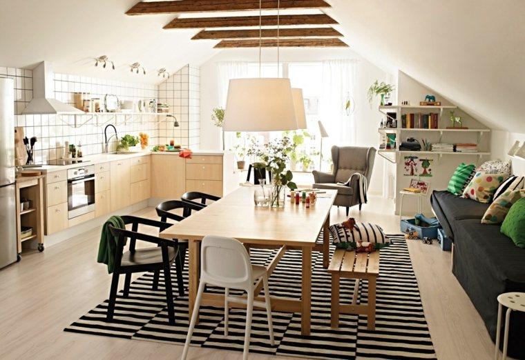 decoracion comedores modernos apartamento atico ideas