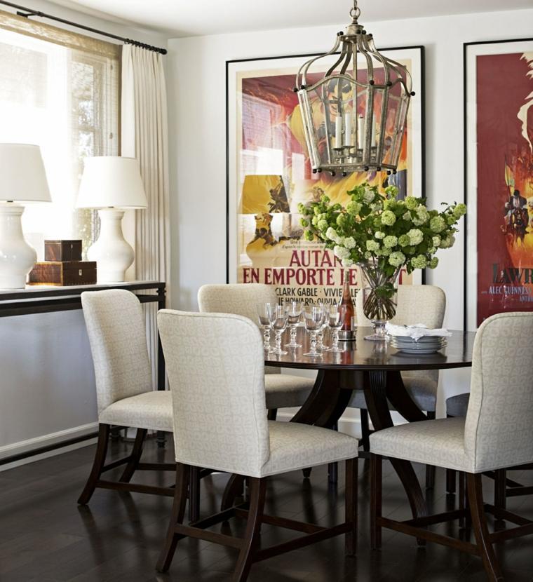 Decorar comedor peque o 55 ideas y consejos - Comedores decorados modernos ...