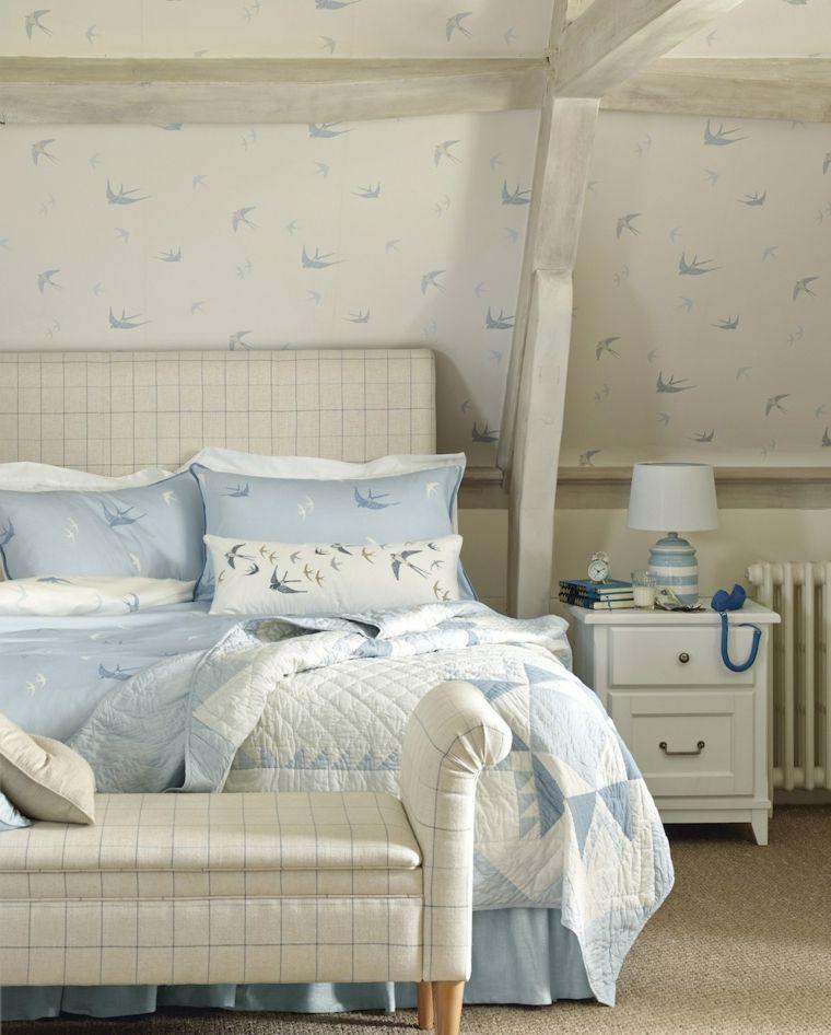 decoracion de interiores verano dormitorio moderno ideas
