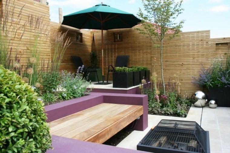 Decoracion de jardines y terrazas 35 ideas modernas - Decoracion jardines modernos ...
