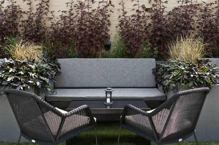 Decoracion de jardines y terrazas 35 ideas modernas for Decoracion terrazas modernas