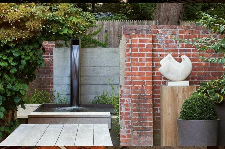 decoracion moderna terraza jardin