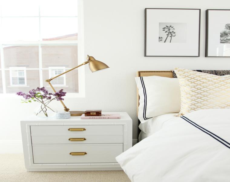 decoracion en blanco dormitorio