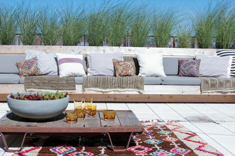 decoracion romantica cojines alfombra preciosa ideas