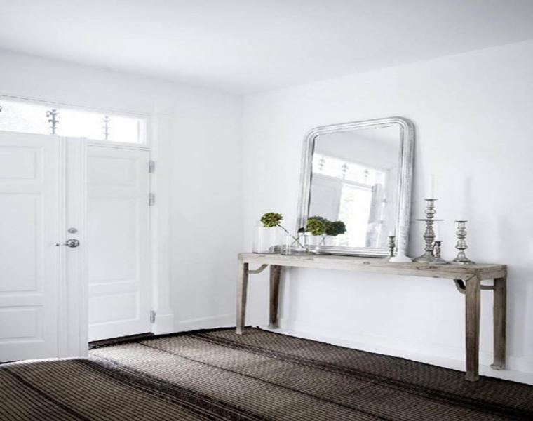 decoracion rústica sencilla color blanco