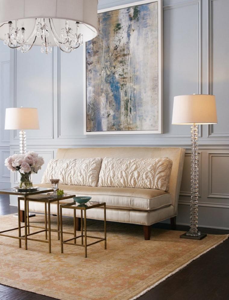 decoración vintage salones lujosos