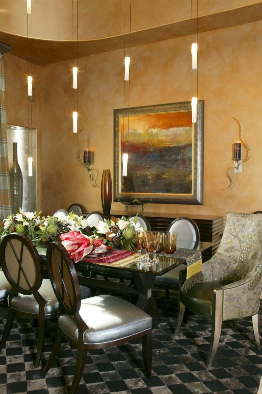 decorar comedor moderno diseno contemporaneo iluminacion ideas