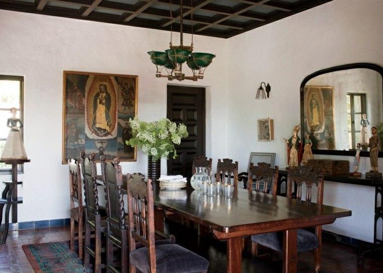 Decorar comedor peque o 55 ideas y consejos for Ideas para decorar un comedor