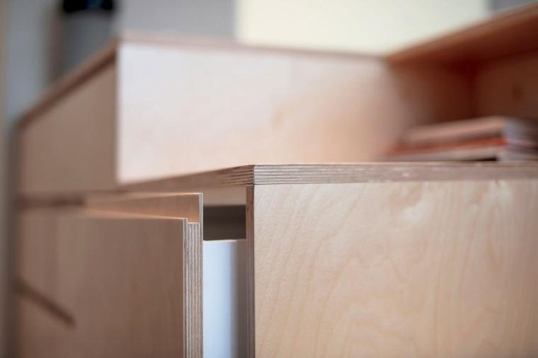 detalles uniones madera efectos ideas gavetas