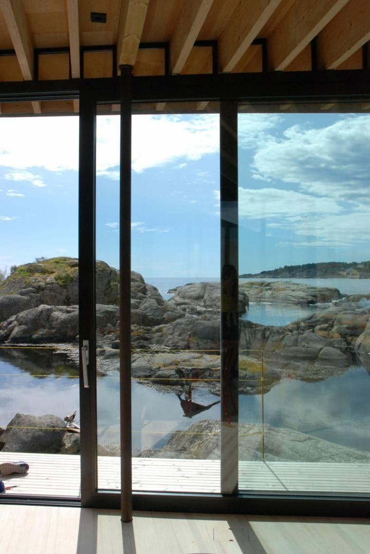 diseño interior casa lujosa rocas