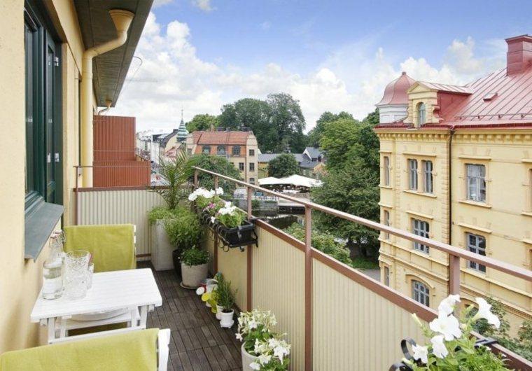 diseño terraza balcno pequeño