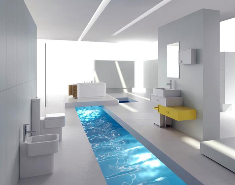 Diseno De Baños Normales: de las opciones de diseño inspirados en los cuartos de baño de