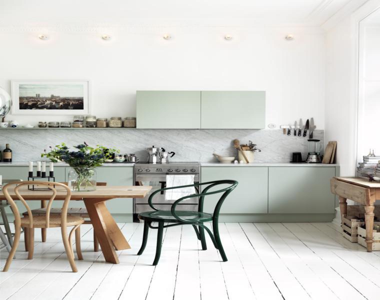 diseño moderno cocina muebles