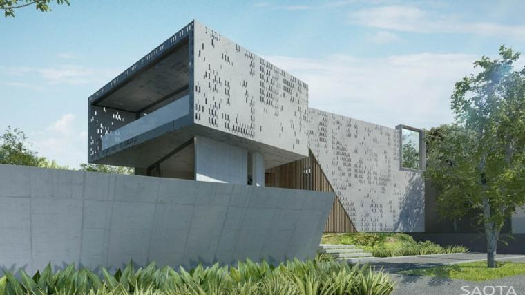 diseno fachada studio SAOTA moderno