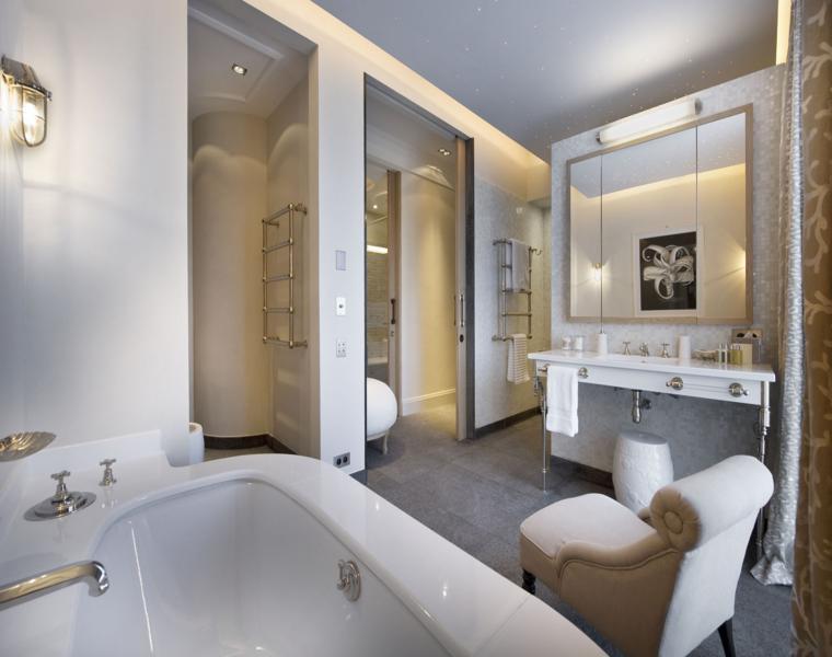 Cuartos de baño normales: fotos de baños cuarenta ideas ...