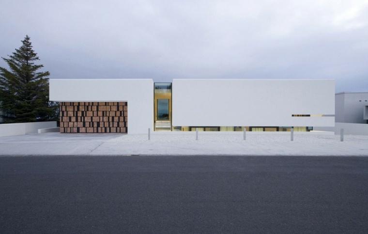 diseno edificio moderno PK Arkitektar.