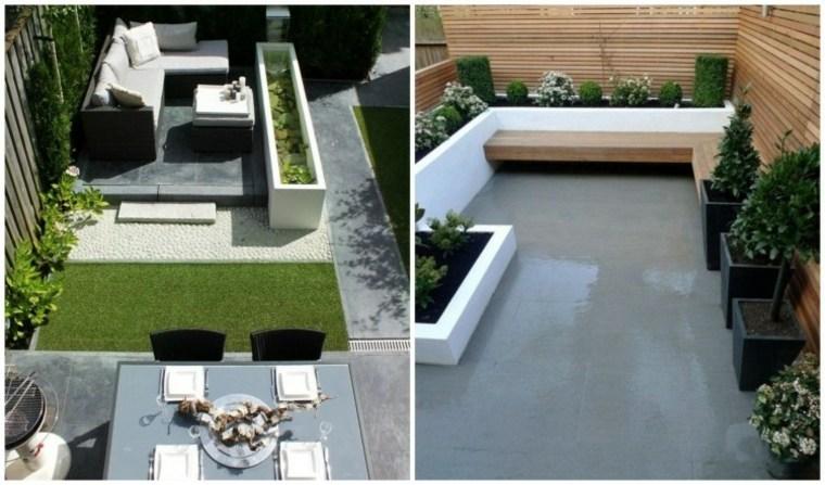 Decoracion de jardines y terrazas 35 ideas modernas - Diseno jardines modernos ...