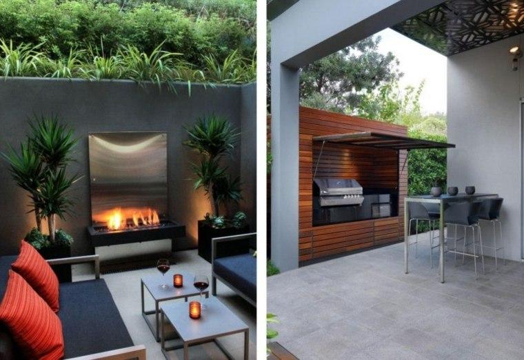 Decoracion de jardines y terrazas 35 ideas modernas - Diseno de terraza ...